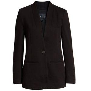NWOT Madewell Tribune Blazer Black SZ 10 Jacket